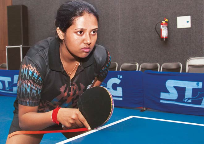 table tennis players in india Ankita Das KreedOn