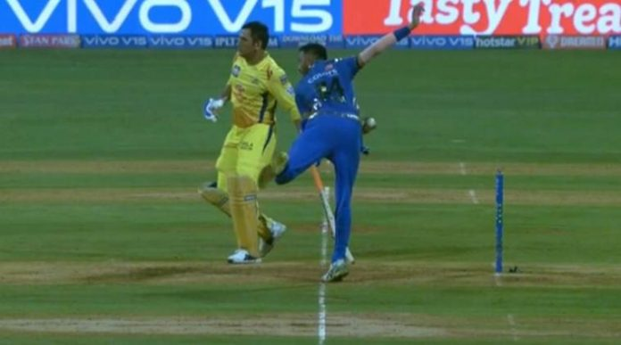 Mankading in IPL