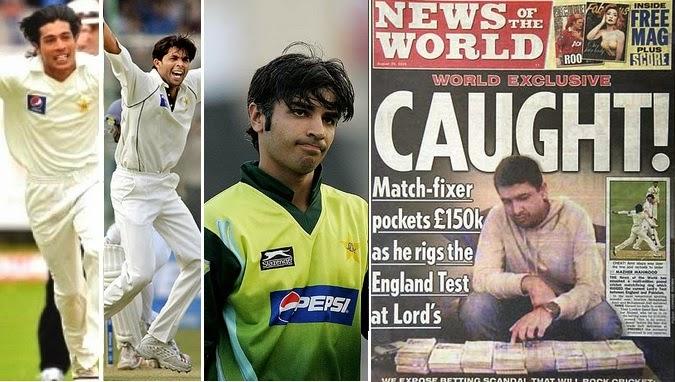 Pakistan Spot Fixing 2010