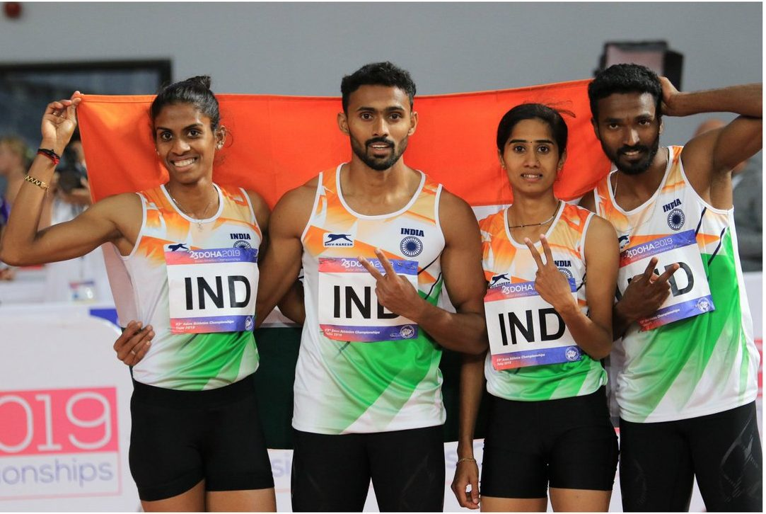 indian relay team KreedOn