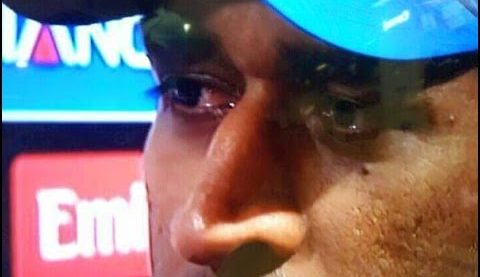 emotional moment in cricket Kreedon