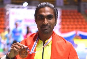 Indian Paralympians Pramod Bhagat KreedOn