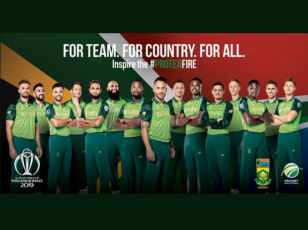 SA team ICC Cricket World Cup Kreedon