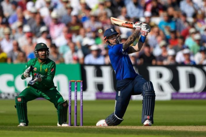 Highest team score in ODI Kreedon: England's 443 vs Pakistan, Alex Hales 171