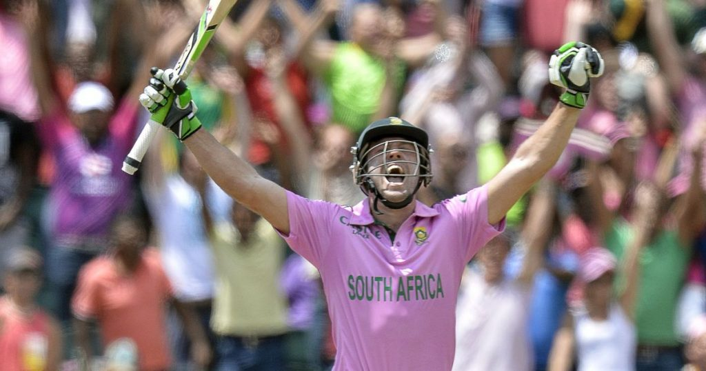 Highest team score in ODI Kreedon: South Africa 439 vs West Indies, AB De Villiers fastest 100 in odi