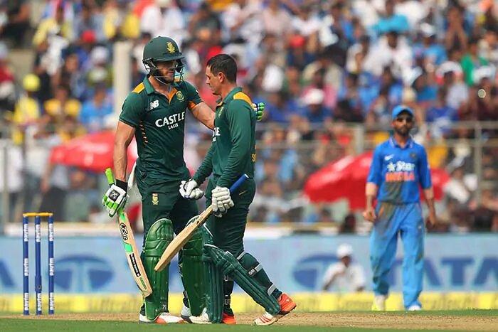 Highest team score in ODI Kreedon: South Africa's 438 vs India Mumbai, 2015
