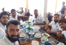Team India Eating KreedOn