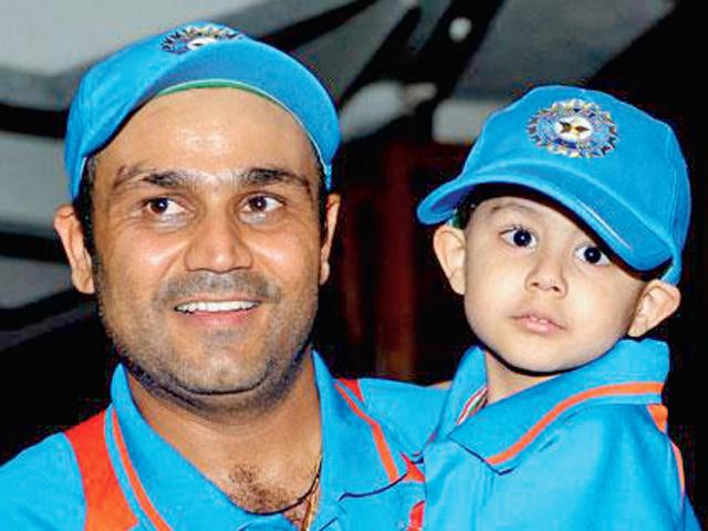 Aryaveer sehwag kreedon cricketers kids