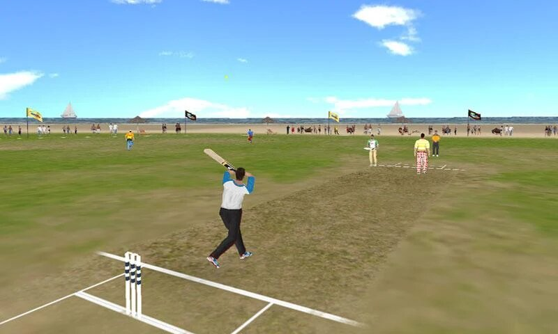 Beach cricket game for Android