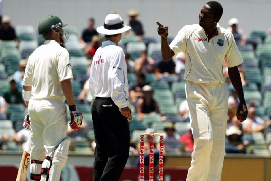 Sulieman Benn fight with Brad Haddin & Mitchell Johnson kreedon