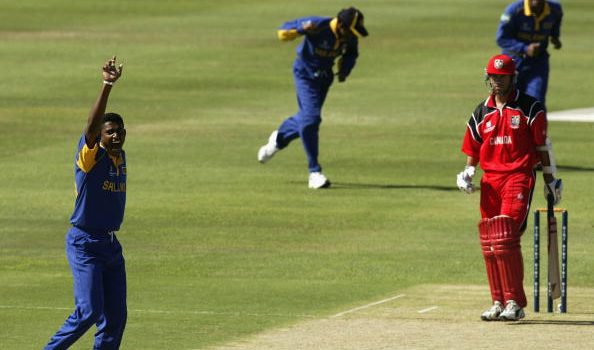 lowest team score odi kreedon: Canda 36 vs Sri Lanka