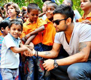 Virat Kohli charity KreedOn