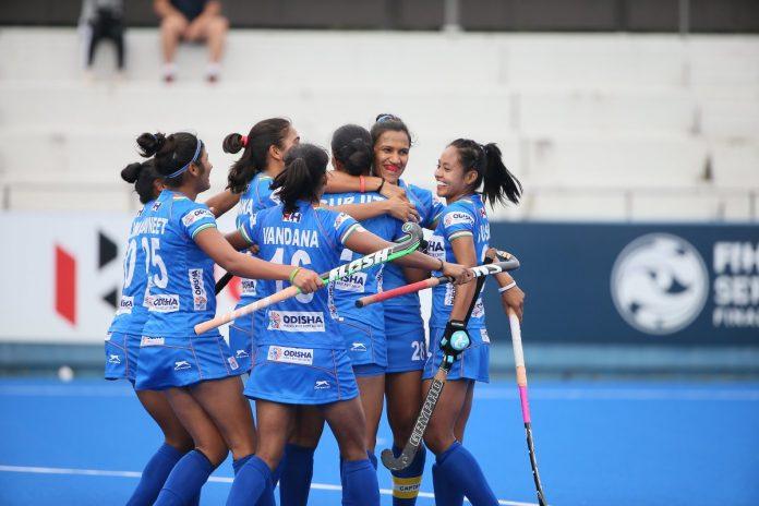 Indian Women's team kreedon