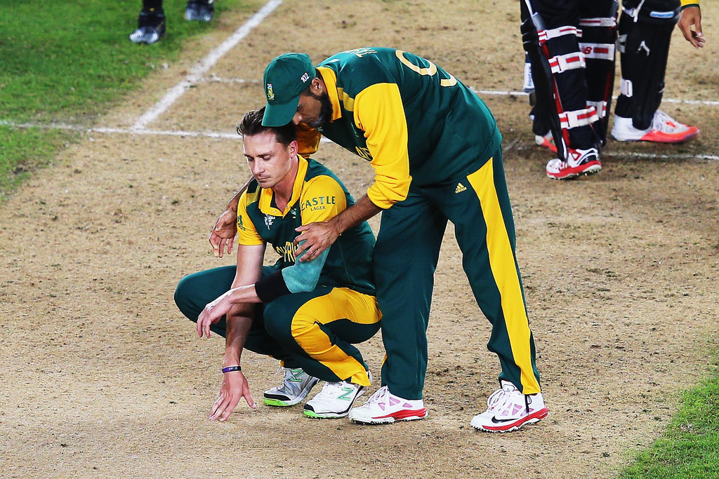 Dale Steyn and Imran Tahir aftre 2015 World Cup Semi-Finals loss Kreedon