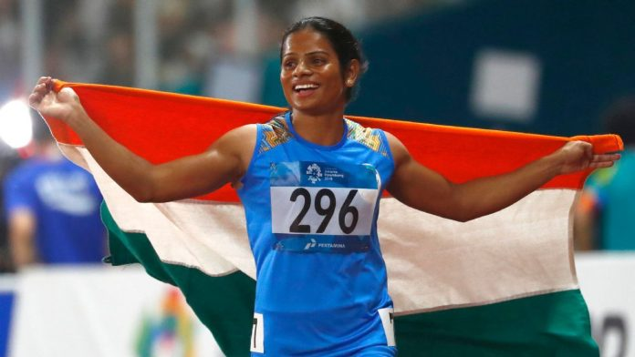 Dutee Chand (Athletics)  IMAGES, GIF, ANIMATED GIF, WALLPAPER, STICKER FOR WHATSAPP & FACEBOOK