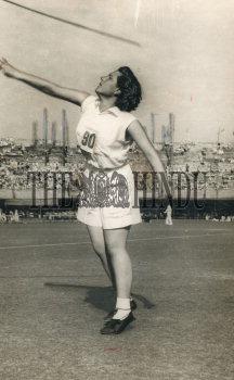Elizebeth Kreedon Indian Javelin Thrower