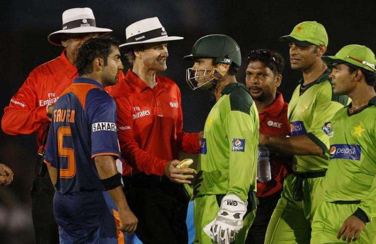 India vs Pakistan cricket fights kreedon
