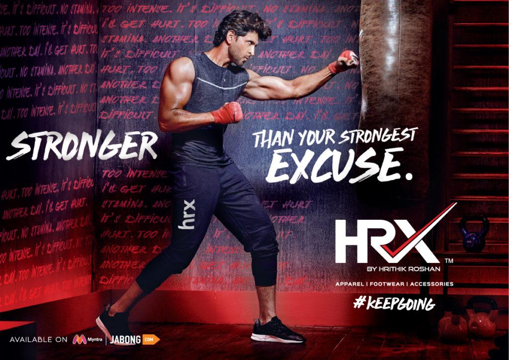HRX Kreedon sportswear brands
