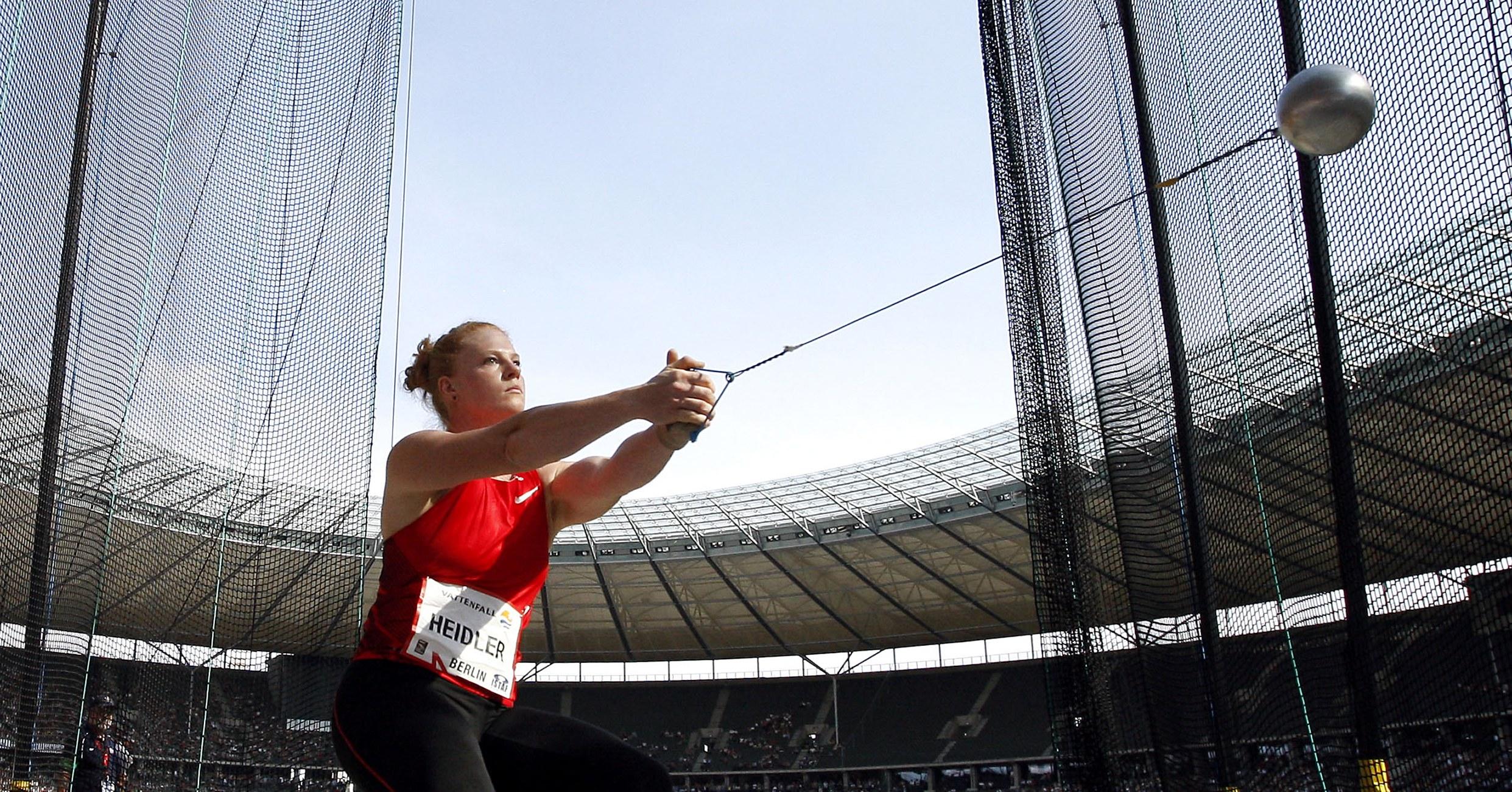 Hammer Kreedon events in athletics