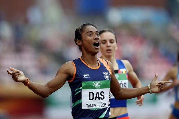 Hima Das (Athletics)  IMAGES, GIF, ANIMATED GIF, WALLPAPER, STICKER FOR WHATSAPP & FACEBOOK
