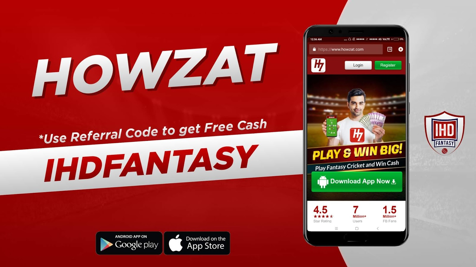 Howzat top fantasy cricket apps KreedOn