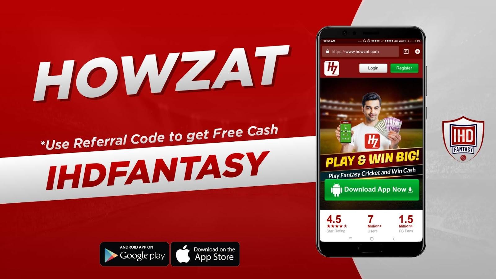 Howzat top fantasy cricket apps KreedOn