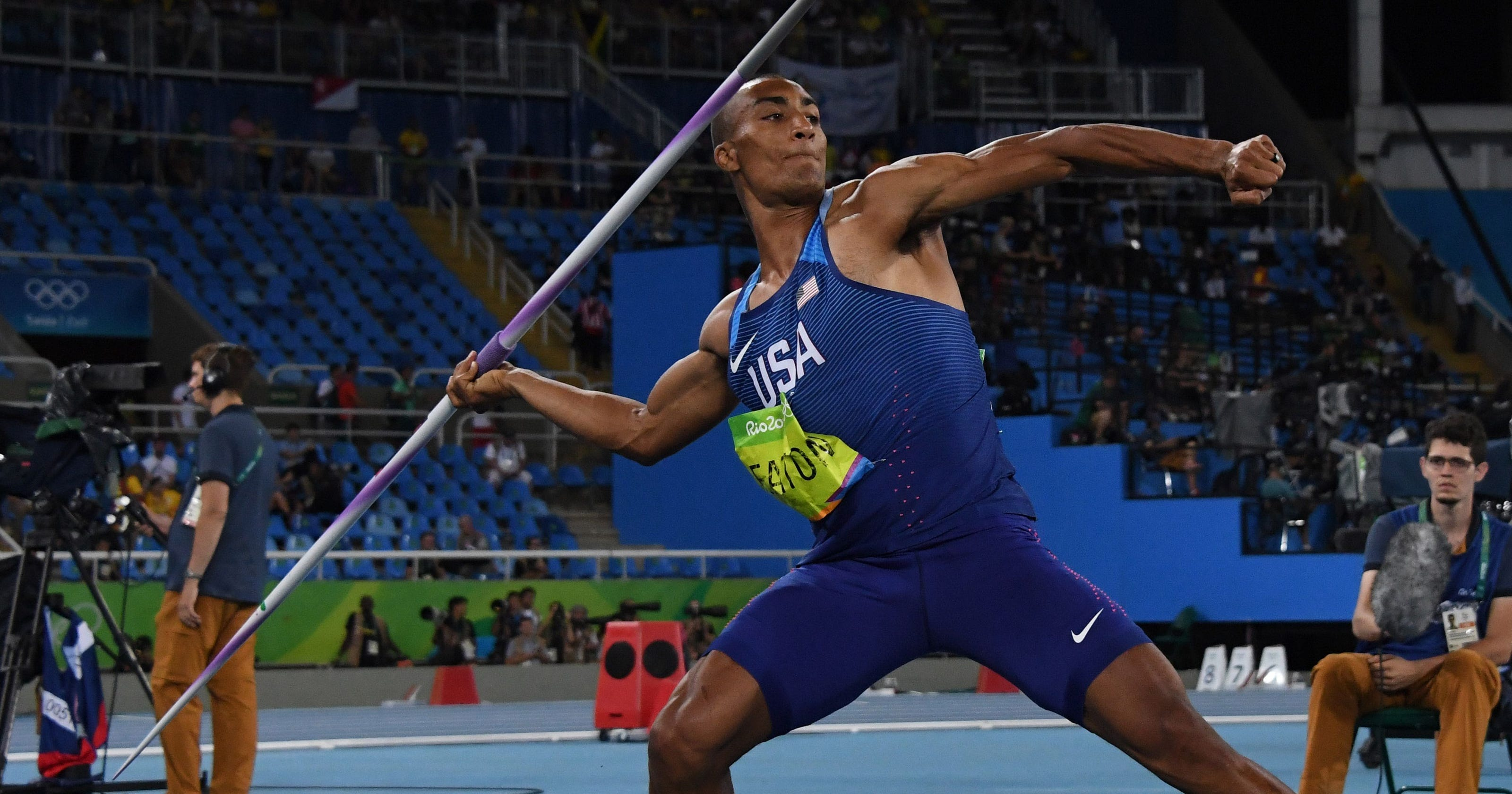 Javeline Kreedon events in athletics