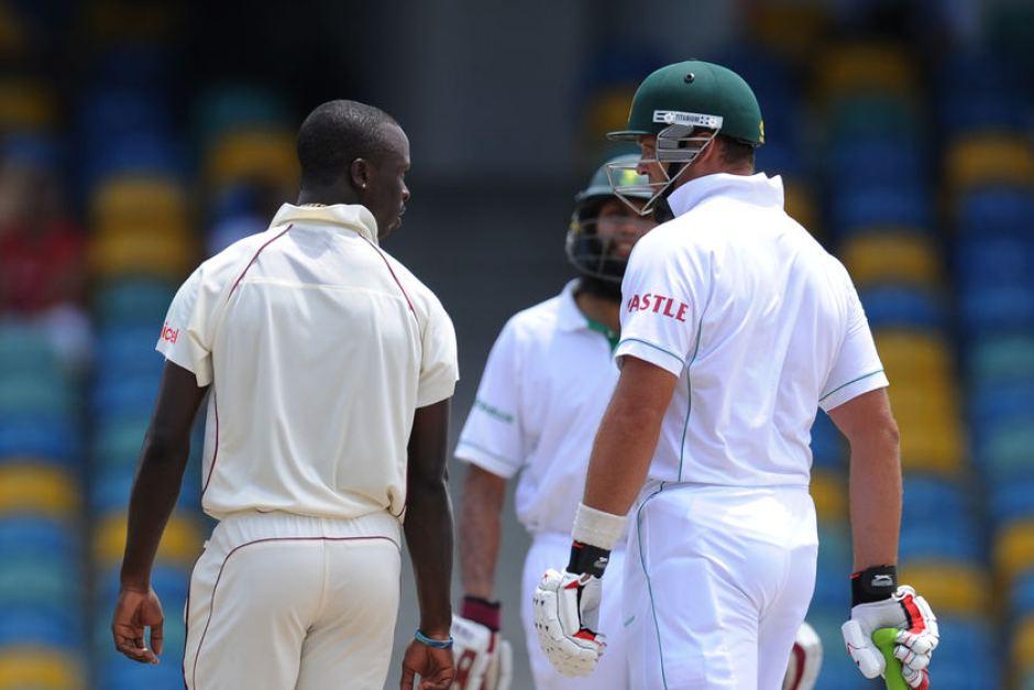 Biggest cricket fights kreedon: Kallis vs Roach