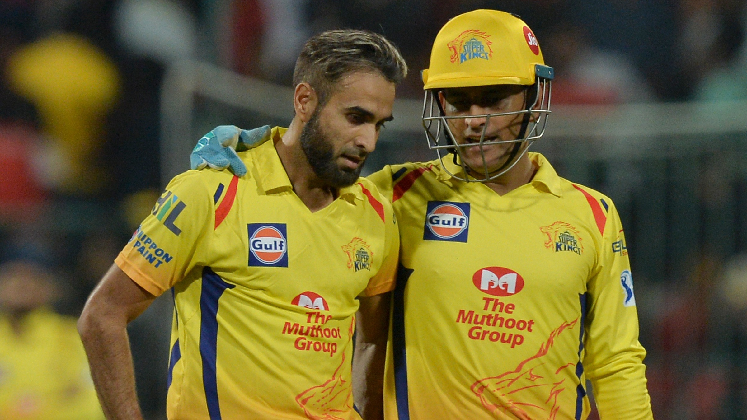 Imran Tahir and MS Dhoni KreedOn