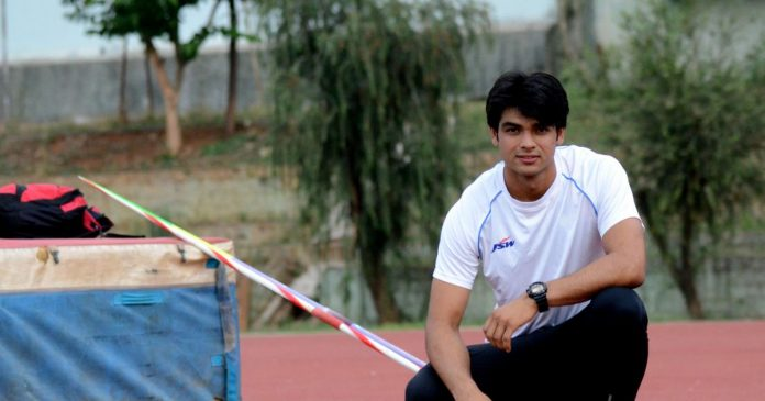 Neeraj Chopra (Athletics)  IMAGES, GIF, ANIMATED GIF, WALLPAPER, STICKER FOR WHATSAPP & FACEBOOK