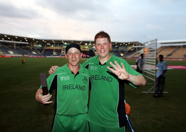 Real brothers in cricket kreedon: Niall O'Brien and Kevin O'Brien