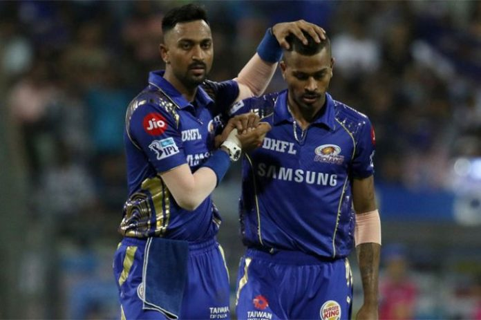 Real brothers in cricket kreedon: Pandya brothers