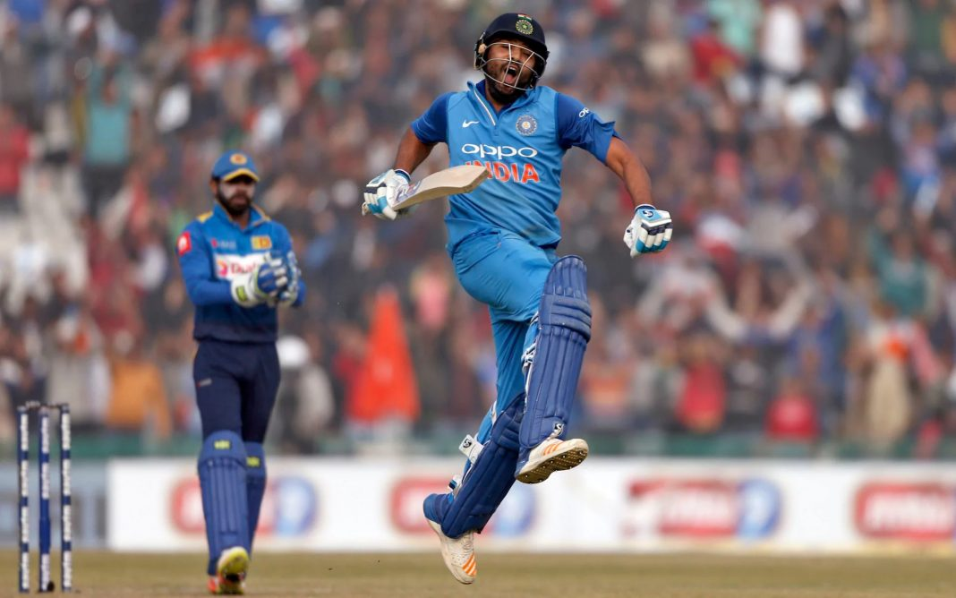 Kreedon highest individual score in odi: Rohit Sharma's 3rd 200 vs srilanka