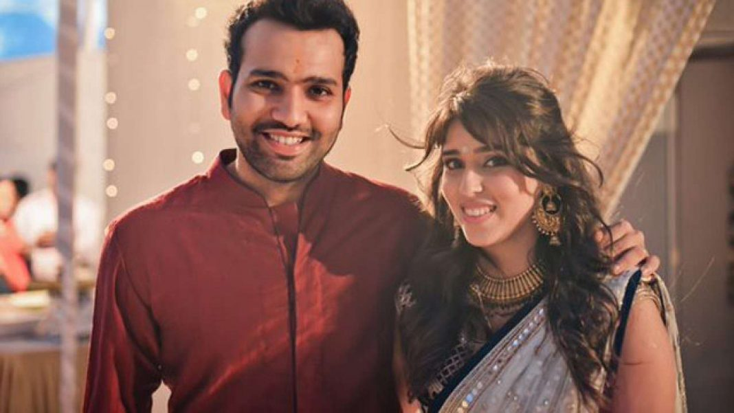 Rohit Sharma Wife Ritika Sajdeh Kreedon
