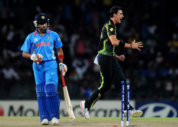 Rohit Sharma and Mitchell Starc KreedOn