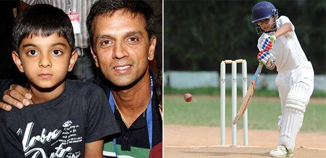 Samit Dravid kreedon cricketers kids