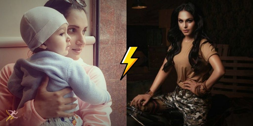 Twitter Goes Crazy as Sania Mirza & Veena Malik Fight