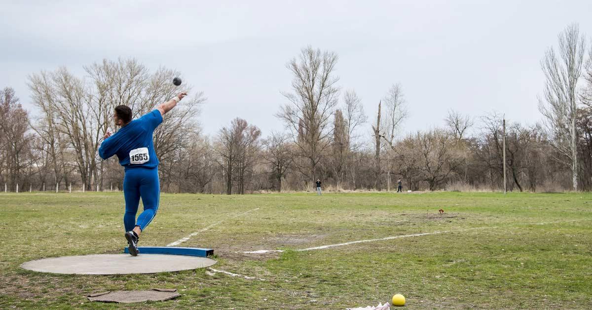 Shot put Kreedon events in athletics