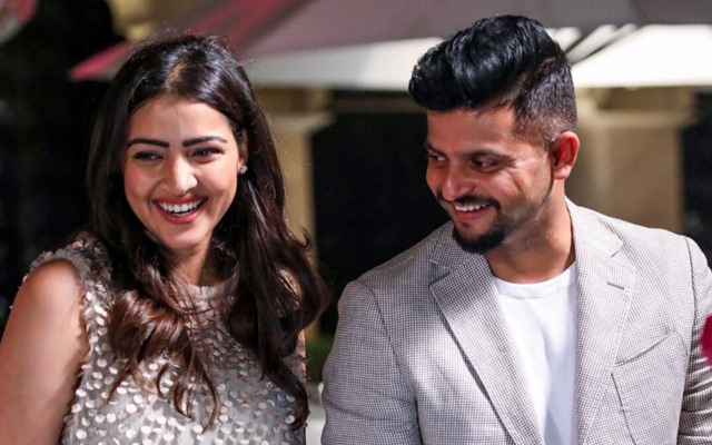 Suresh Raina Wife Priyanka Chaudhary Raina Kreedon cricketers wives