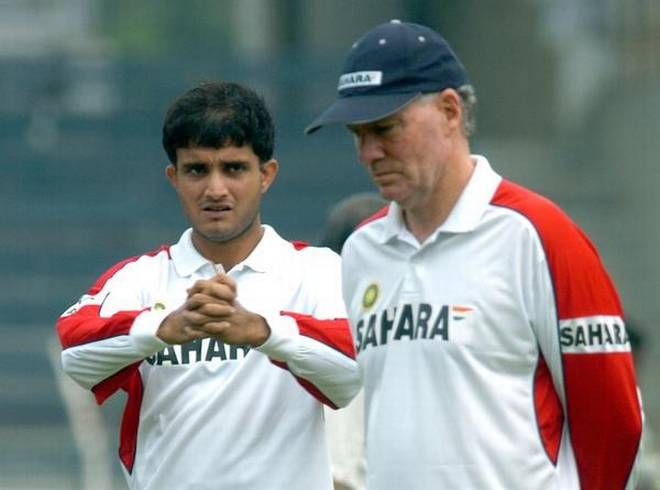 Sourav Ganguly and Greg Chapell KreedOn