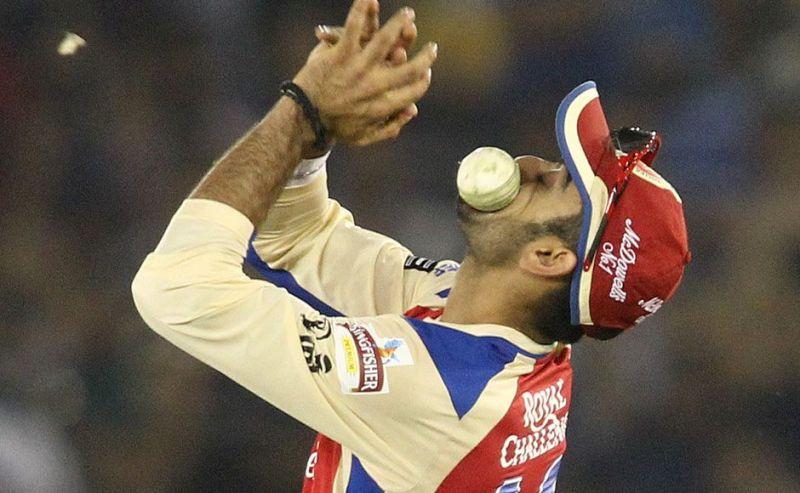 Virat Kohli missed catch kreedon
