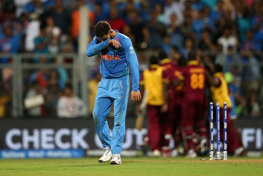Virat Kohli during the ICC World Twenty20 2016 Semi-Final match vs West Indies in Mumbai, India. (Virat Kohli pics)Kreedon