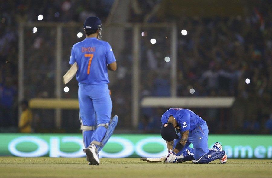 ICC WT20 India Group 2 match: India VS Australia on March 27, 2016, in Mohali, India Kreedon(Virat Kohli pics)