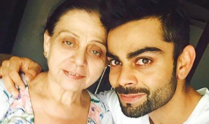 Virat with his mother Kreedon