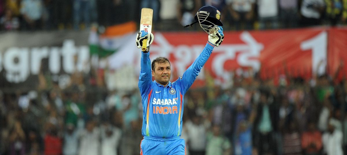 Kreedon highest individual score in ODI: Virender Sehwag 219 vs West Indies