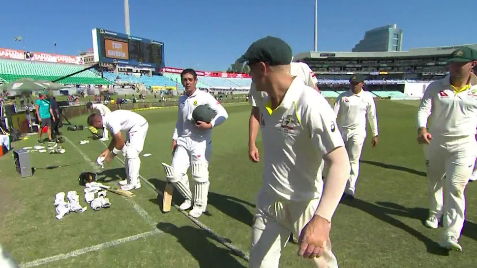 Quinton De Kock and David Warner fight kreedon