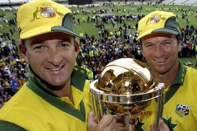 Steve Waugh and Mark Waugh Kreedon