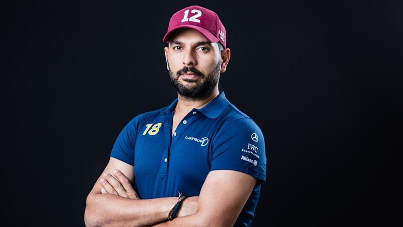 Yuvraj Singh   famous sports personalities in India   Kreedon