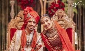 cricketers wives, Yuzvendra chahal wife