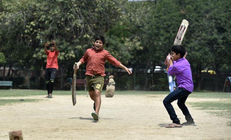 Winning moment street cricket kreedon